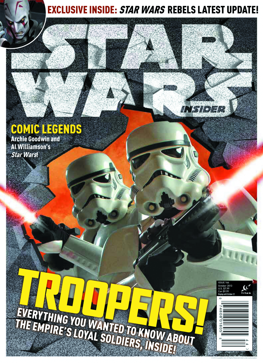 STAR WARS INSIDER #148 NEWSSTAND ED