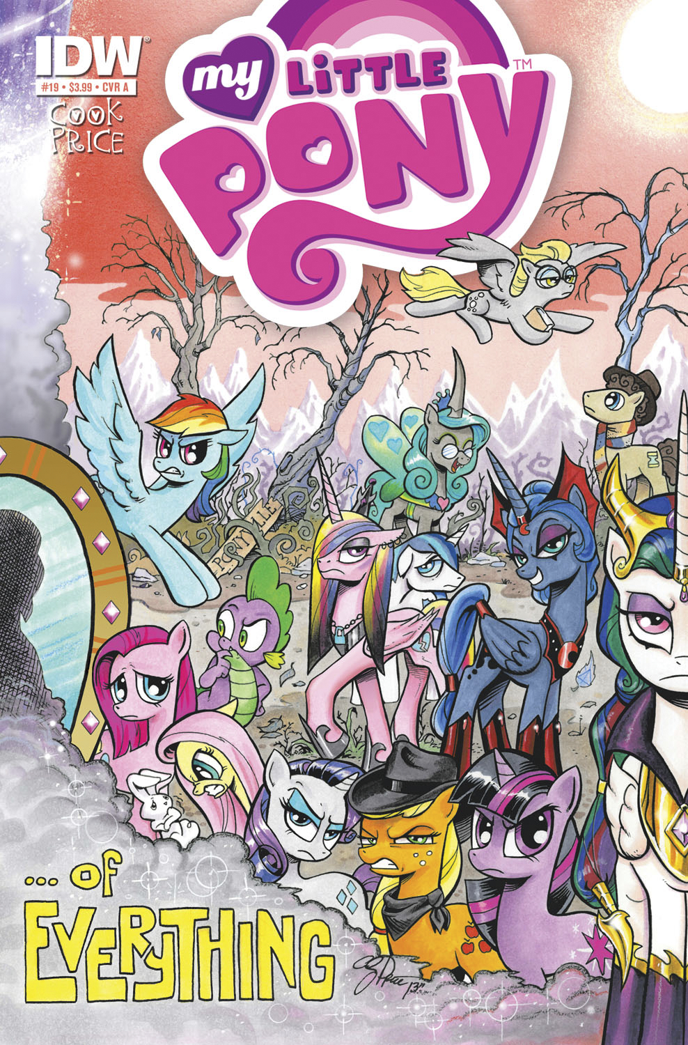 MY LITTLE PONY FRIENDSHIP IS MAGIC #19