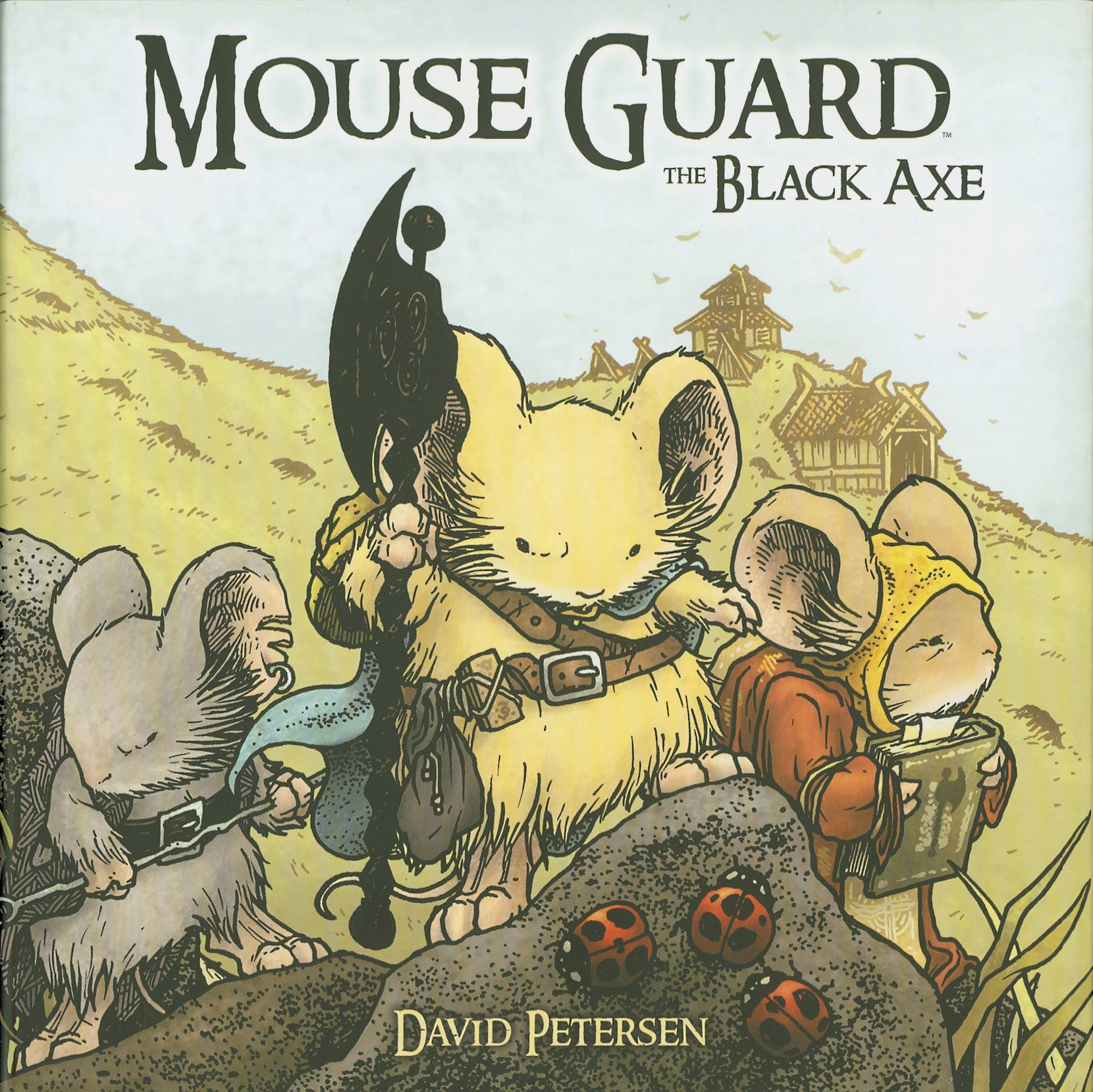 MOUSE GUARD HC VOL 03 BLACK AXE