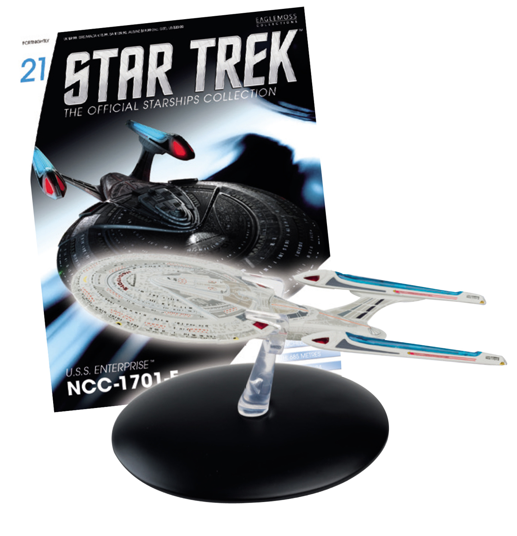 STAR TREK STARSHIPS FIG MAG #21 USS ENTERPRISE E