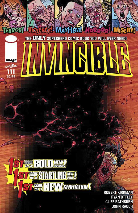 INVINCIBLE #111 CVR B OTTLEY PENCIL VAR (MR)