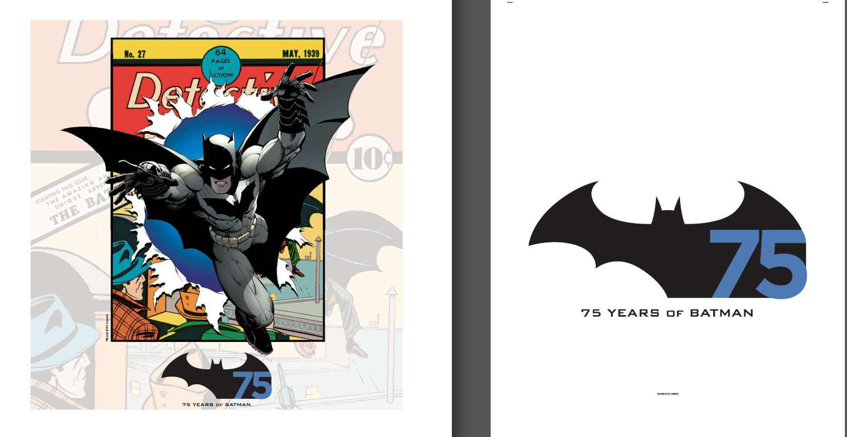 BATMAN 75TH ANNIV STORE BAGS FOR REORDER (CS 1000)