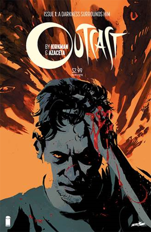 OUTCAST BY KIRKMAN & AZACETA #1 2ND PTG (MR)