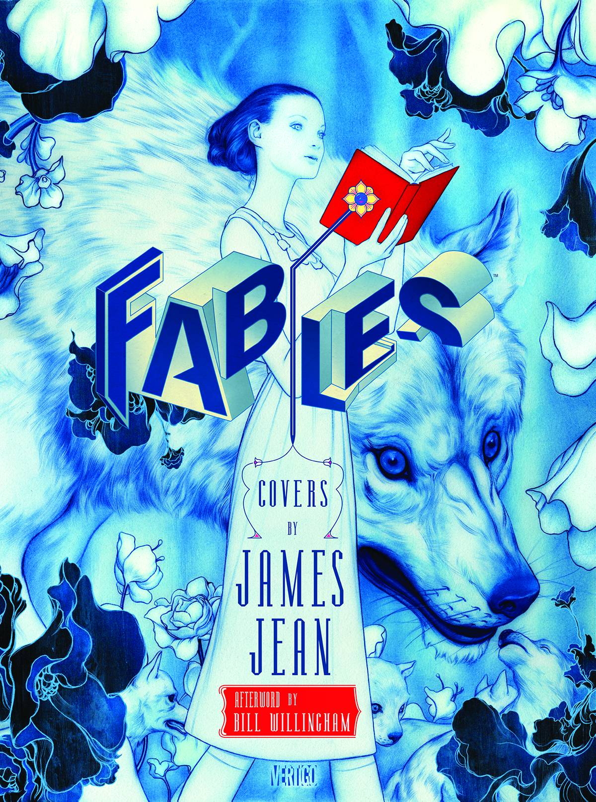 FABLES COMPLETE COVERS BY JAMES JEAN HC NEW ED (MR)