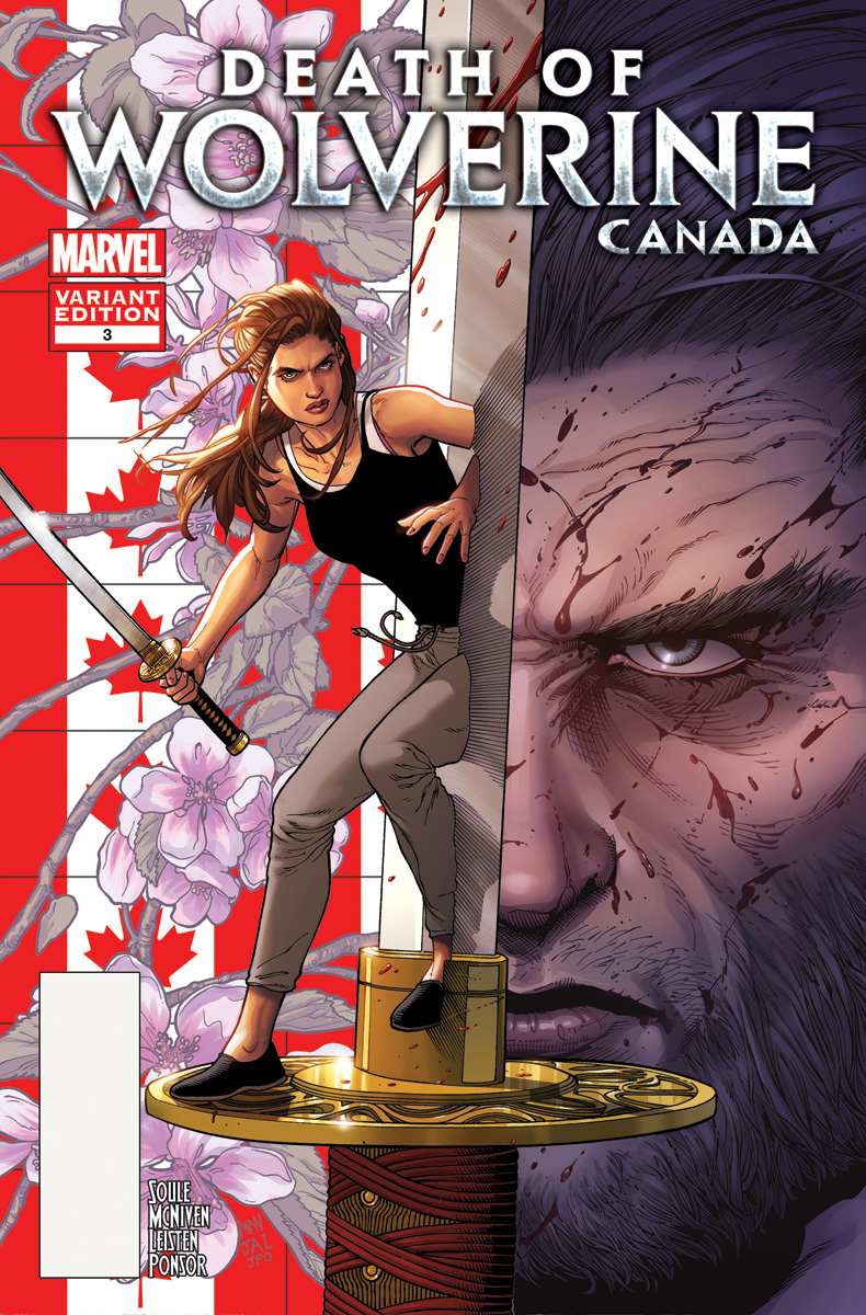 DEATH OF WOLVERINE #3 (OF 4) MCNIVEN CANADA VAR