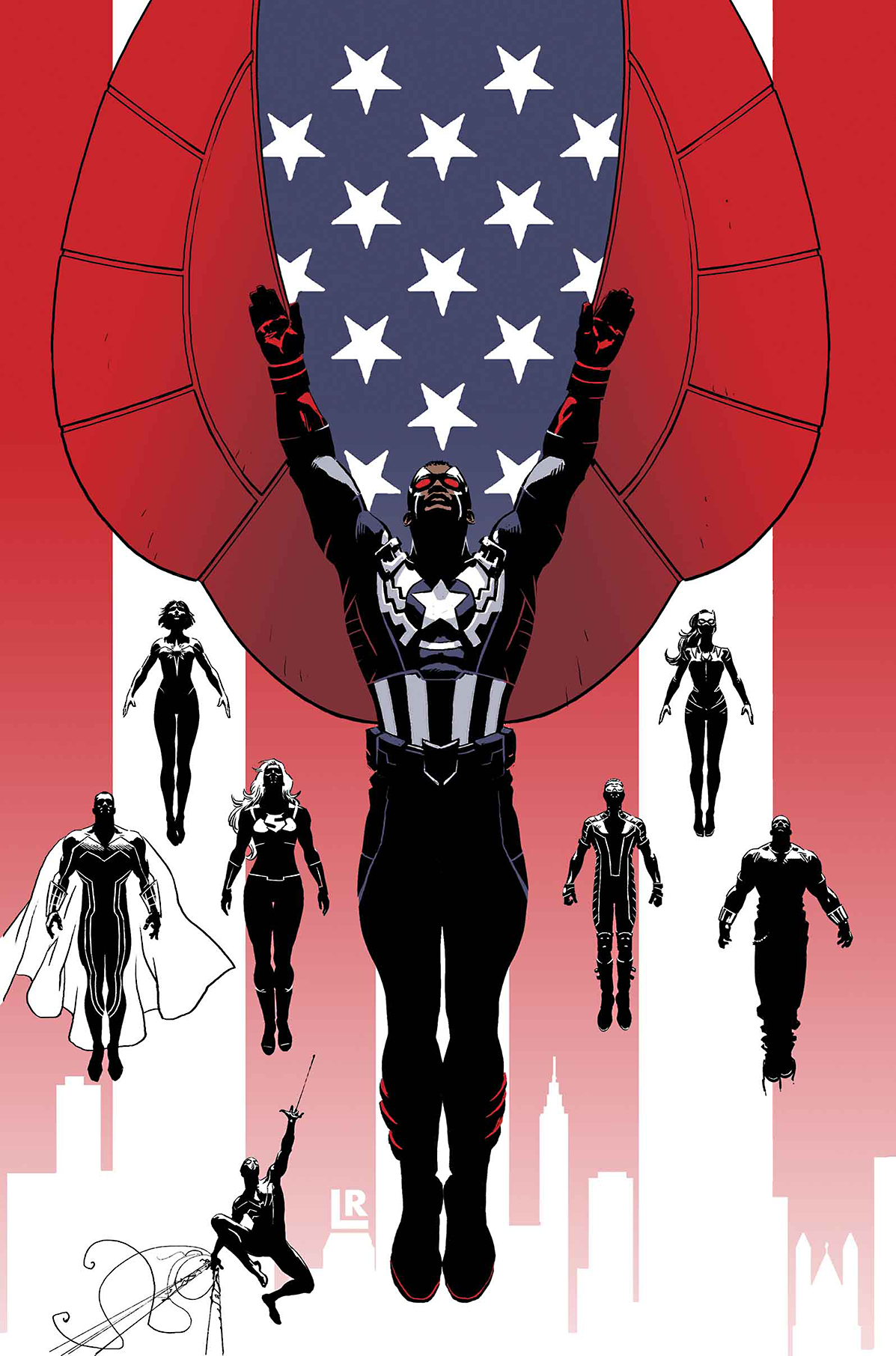 CAPTAIN AMERICA AND MIGHTY AVENGERS #1 AXIS