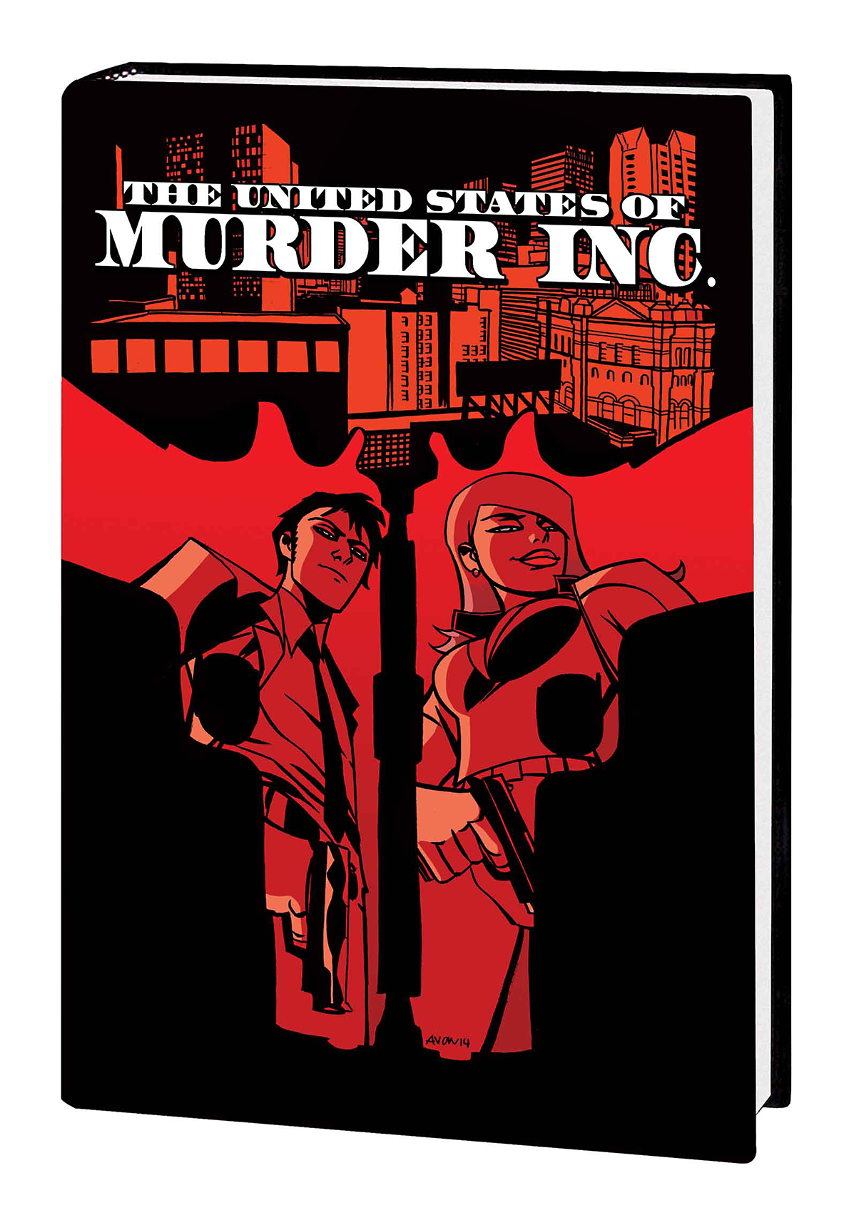 UNITED STATES OF MURDER INC PREM HC VOL 01 TRUTH (MR)