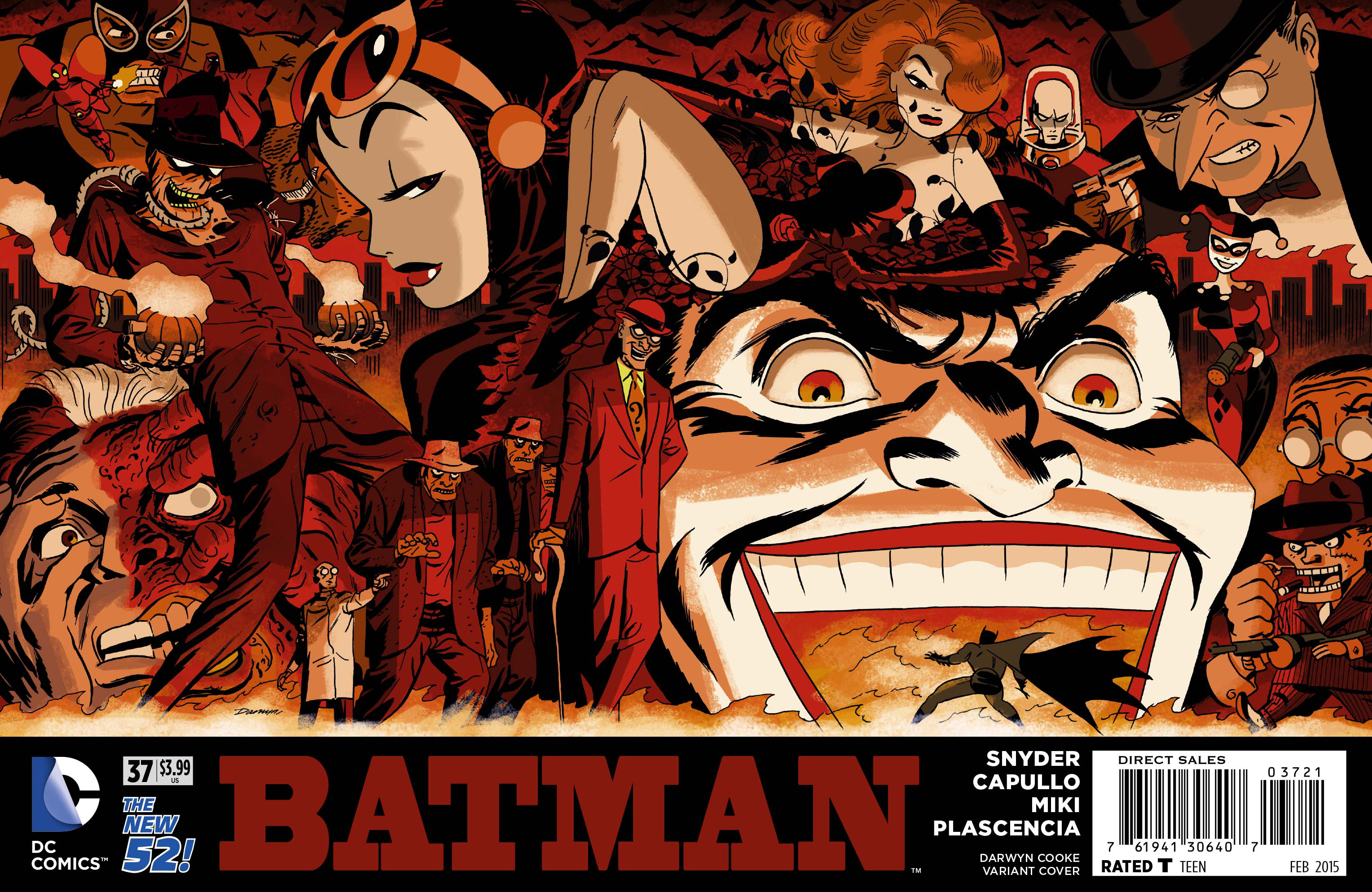 BATMAN #37 DARWYN COOKE VAR ED