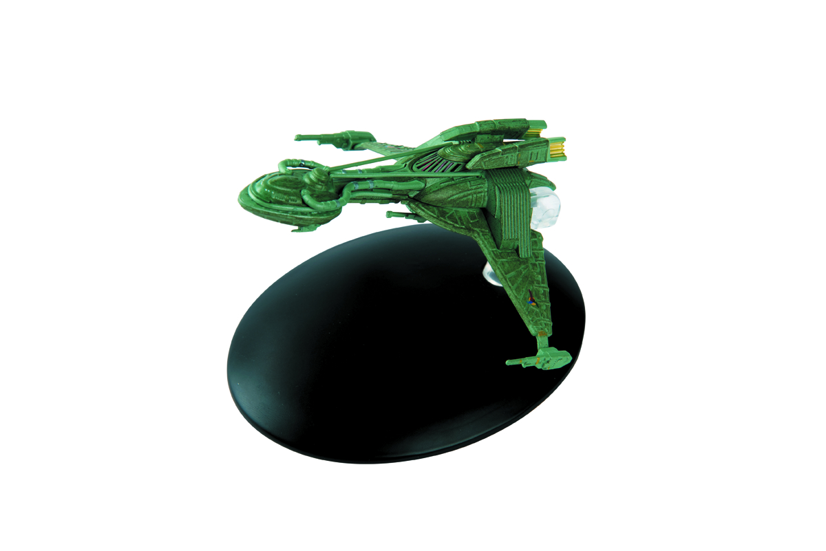 STAR TREK STARSHIPS FIG MAG #35 EARLY KLINGON BIRD OF PREY (