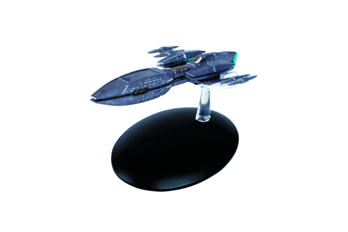 STAR TREK STARSHIPS FIG MAG #37 ANDORIAN CRUISER