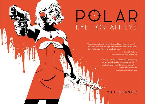 POLAR HC VOL 02 EYE FOR AN EYE