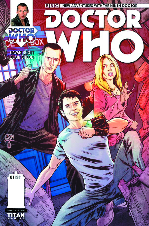 DOCTOR WHO 9TH #1 (OF 5) 10 COPY INCV SHEDD