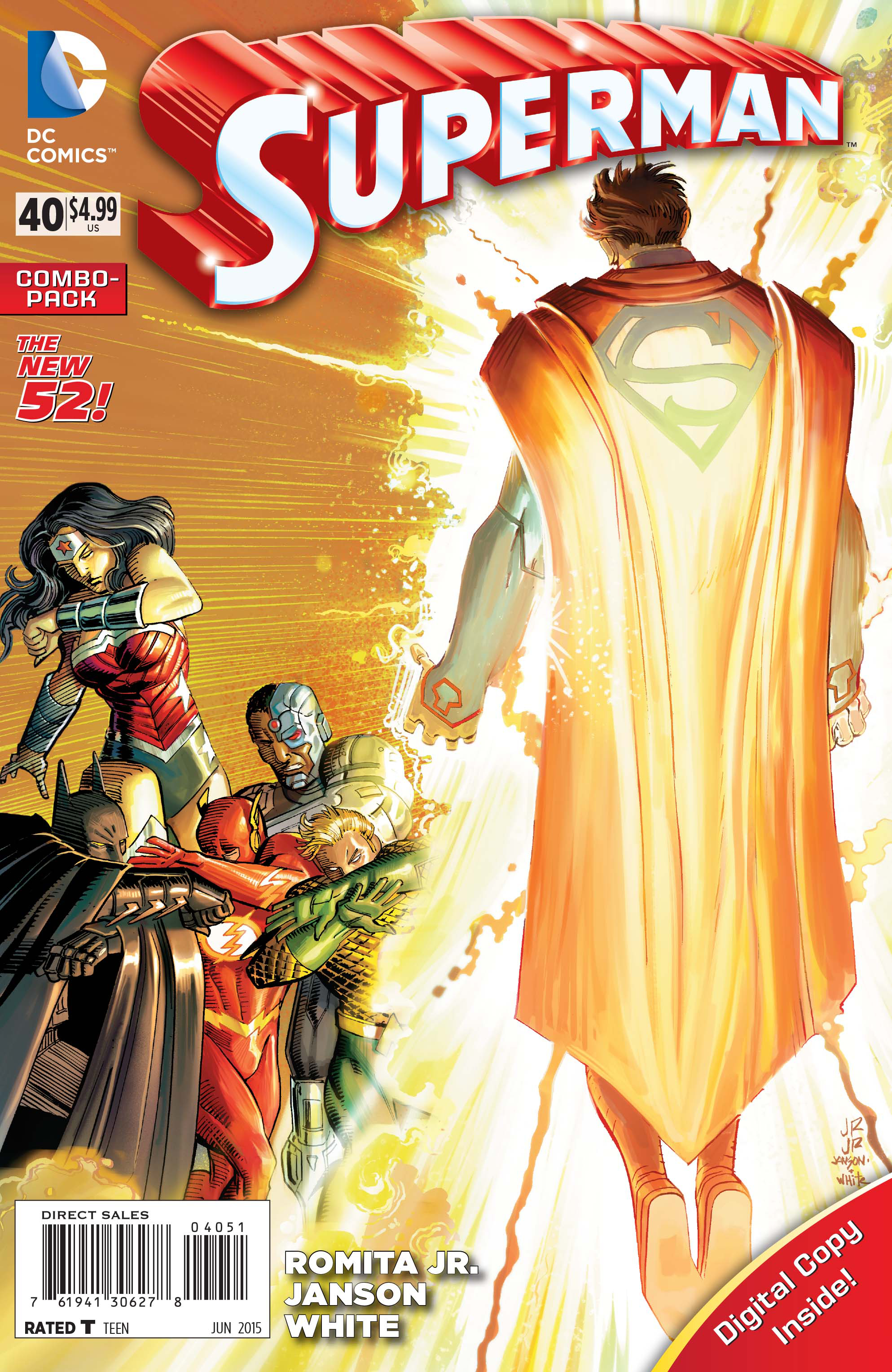 SUPERMAN #40 COMBO PACK