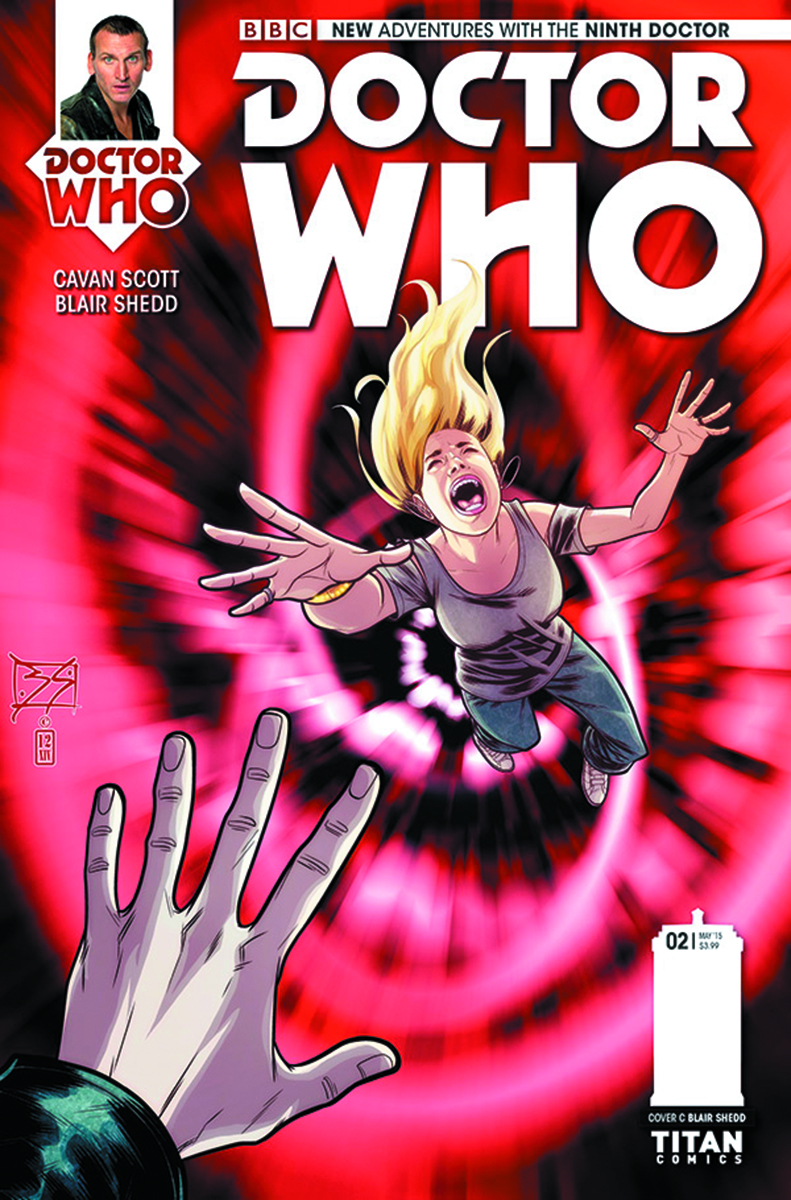 DOCTOR WHO 9TH #2 (OF 5) 10 COPY INCV SHEDD