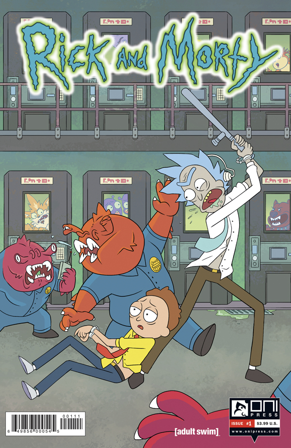 RICK & MORTY #1
