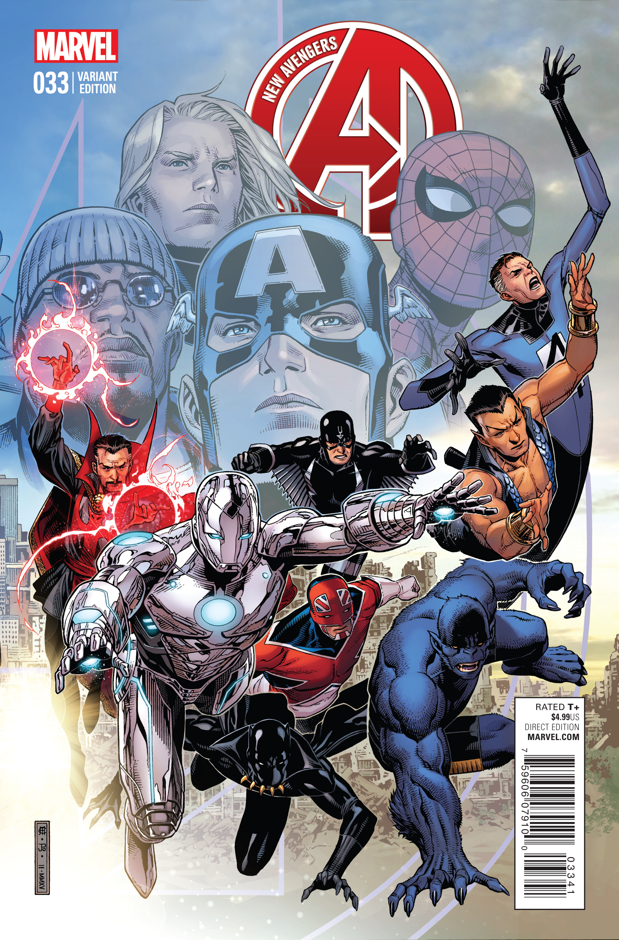NEW AVENGERS #33 CHEUNG END OF AN ERA VAR TRO