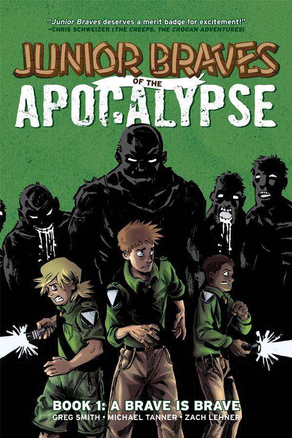 JUNIOR BRAVES OF THE APOCALYPSE HC VOL 01