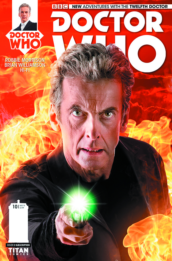 DOCTOR WHO 12TH #10 SUBSCRIPTION PHOTO