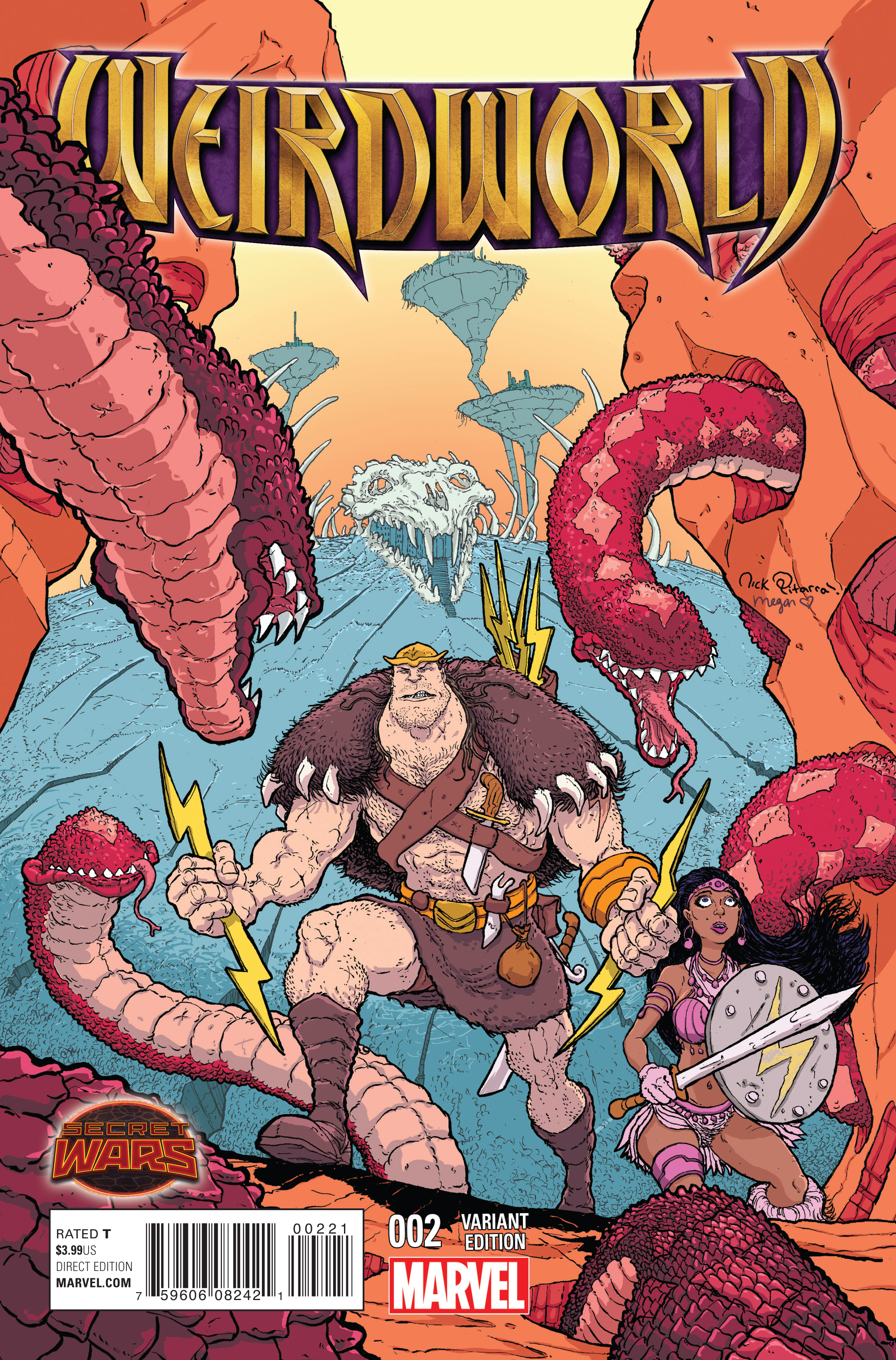 WEIRDWORLD #2 PITARRA VAR SWA