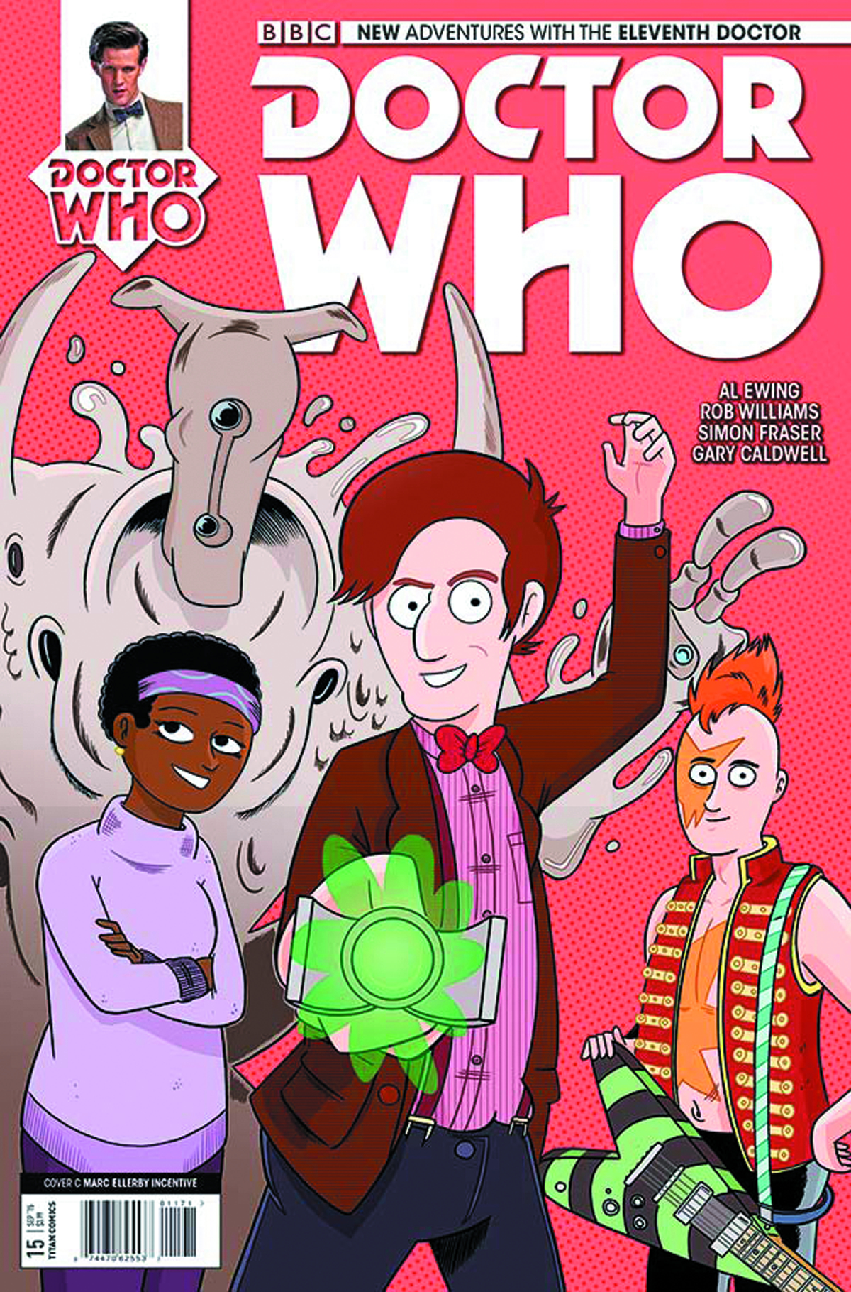 DOCTOR WHO 11TH #15 10 COPY INCV ELLERBY