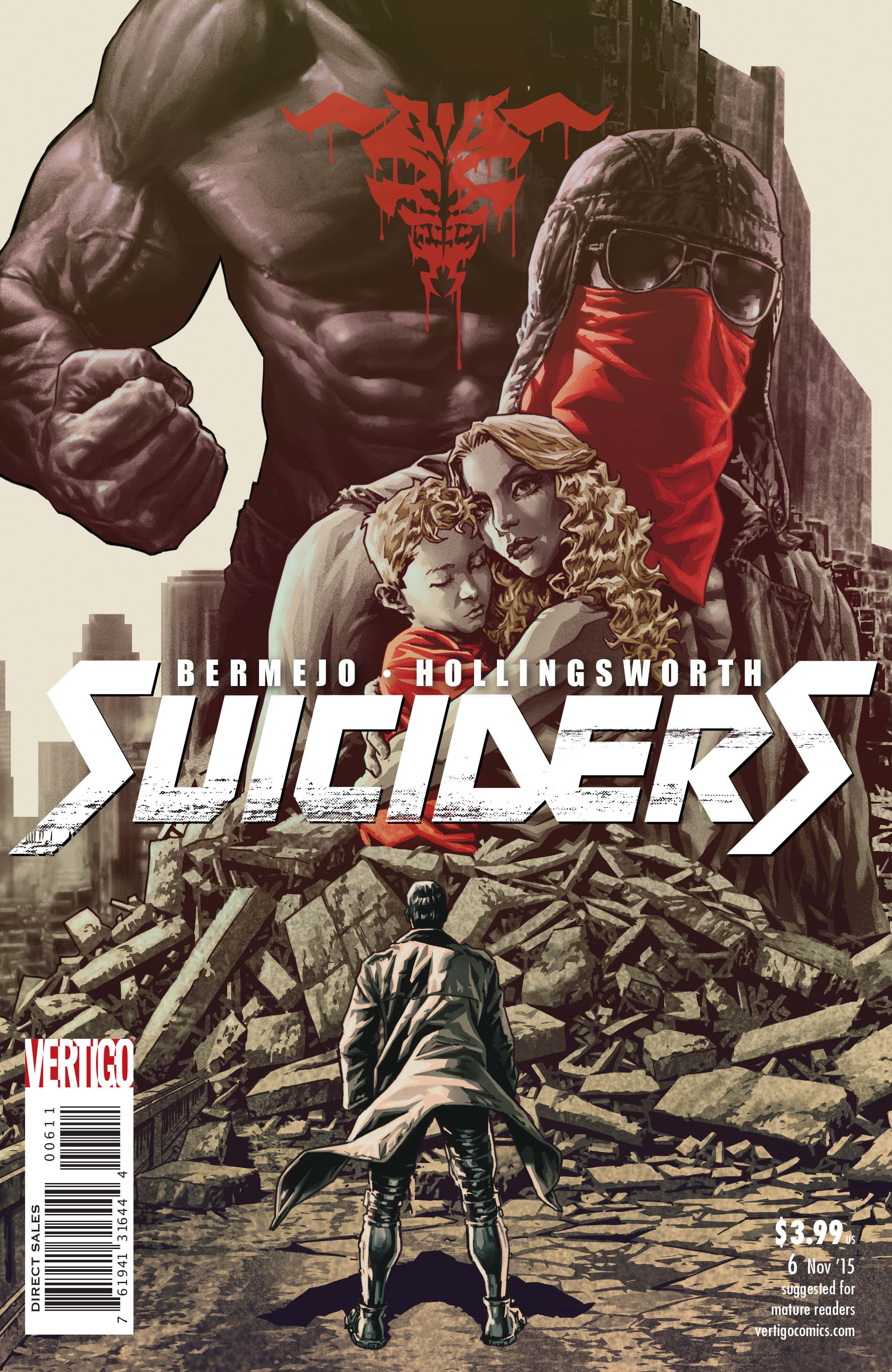 SUICIDERS #6 (MR)