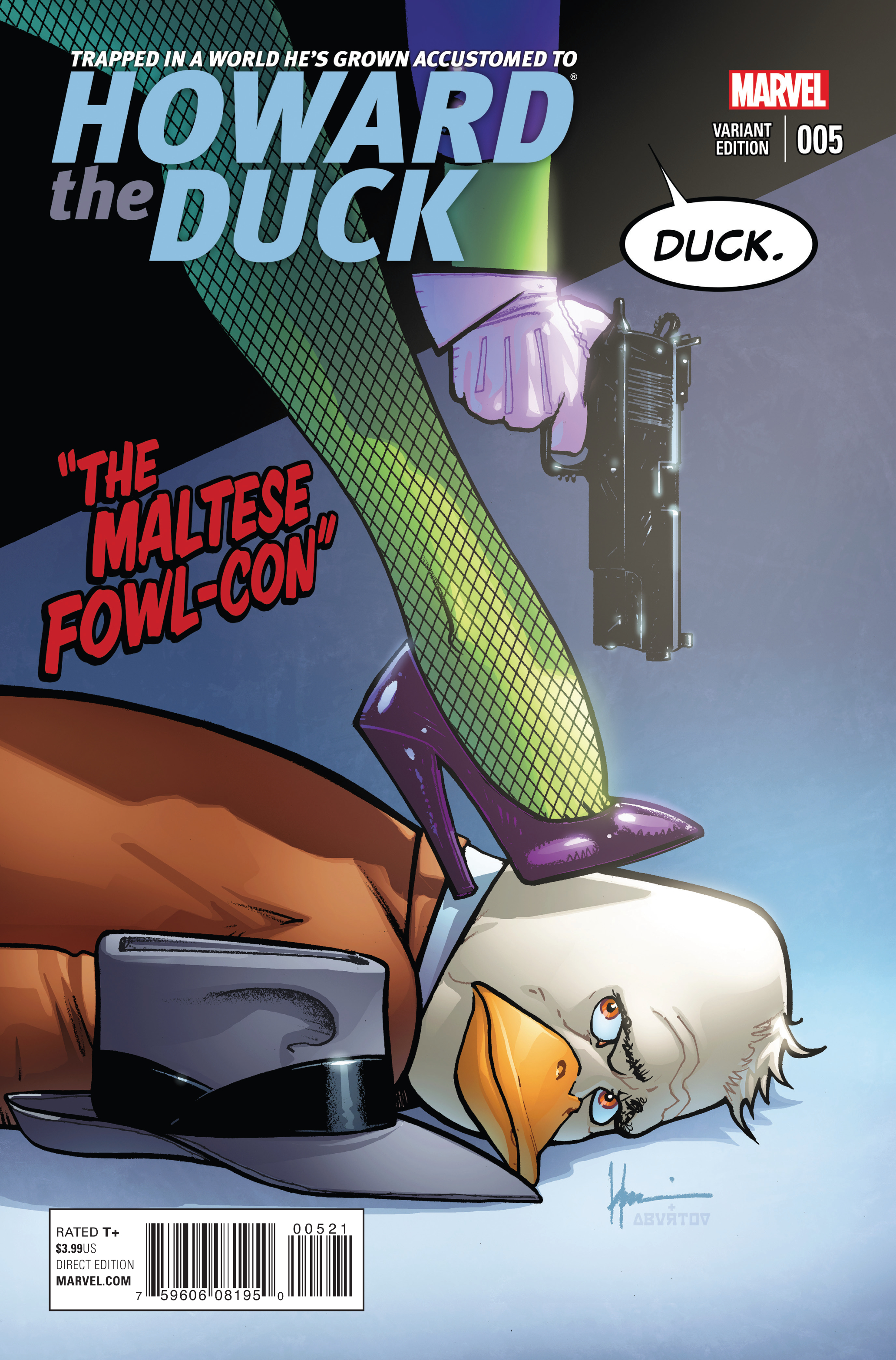 HOWARD THE DUCK #5 CHAYKIN VAR