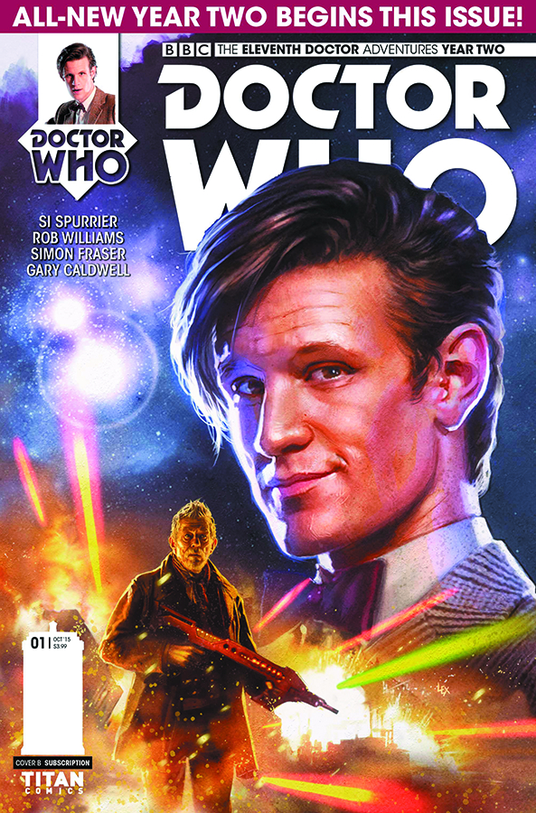 DOCTOR WHO 11TH YEAR TWO #1 REG RONALD
