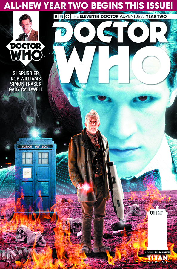 DOCTOR WHO 11TH YEAR TWO #1 SUBSCRIPTION PHOTO