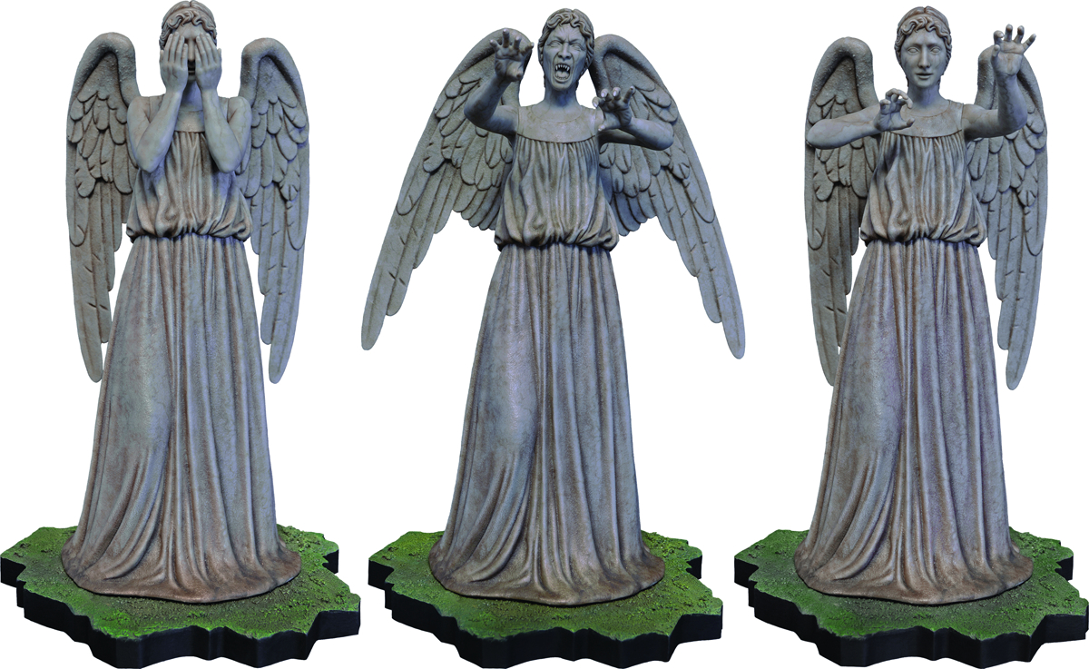 DOCTOR WHO WEEPING ANGEL 1/6 SCALE POLYSTONE COLL FIG