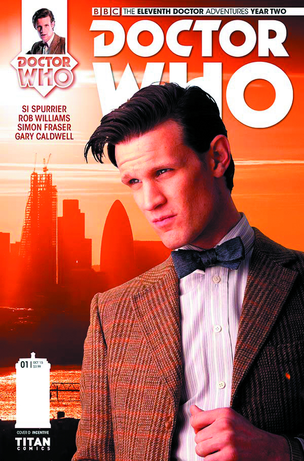 DOCTOR WHO 11TH YEAR TWO #2 SUBSCRIPTION PHOTO