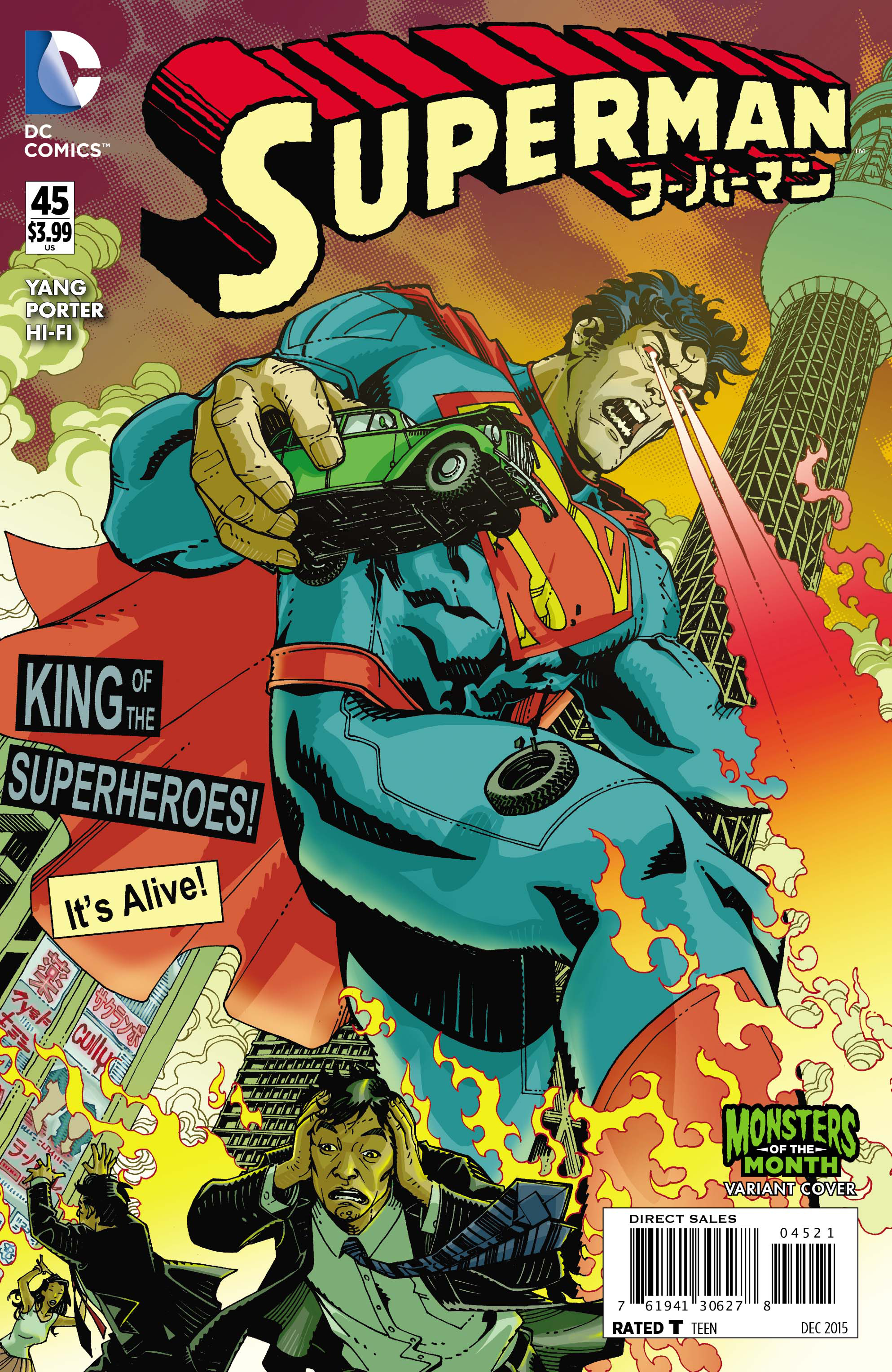 SUPERMAN #45 MONSTERS VAR ED