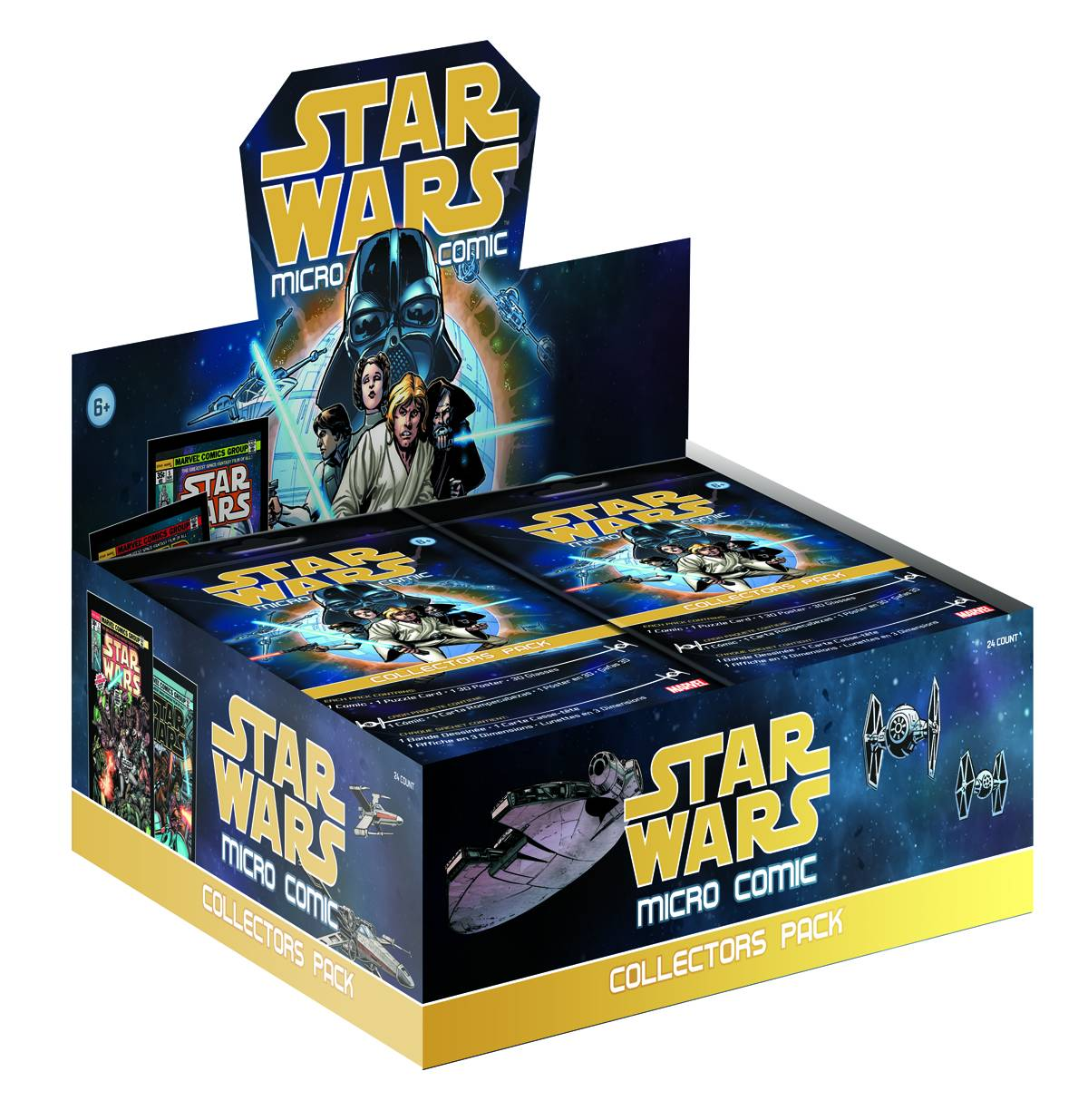 STAR WARS MICRO COMIC COLLECTORS PACK DSP (Net)