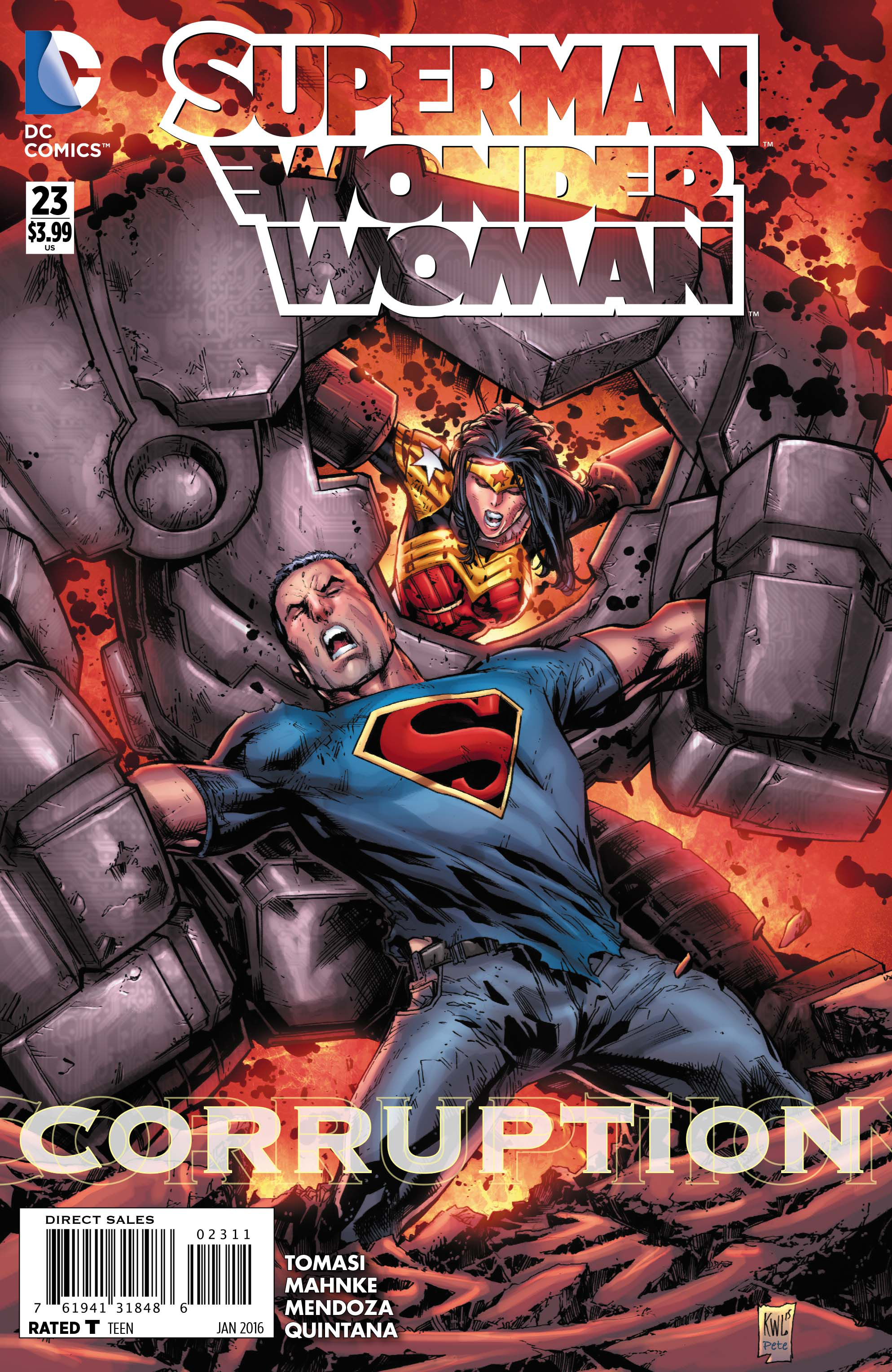 SUPERMAN WONDER WOMAN #23