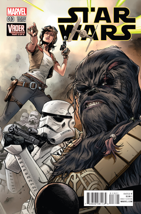 STAR WARS #13 MANN CONNECTING VAR VDWN