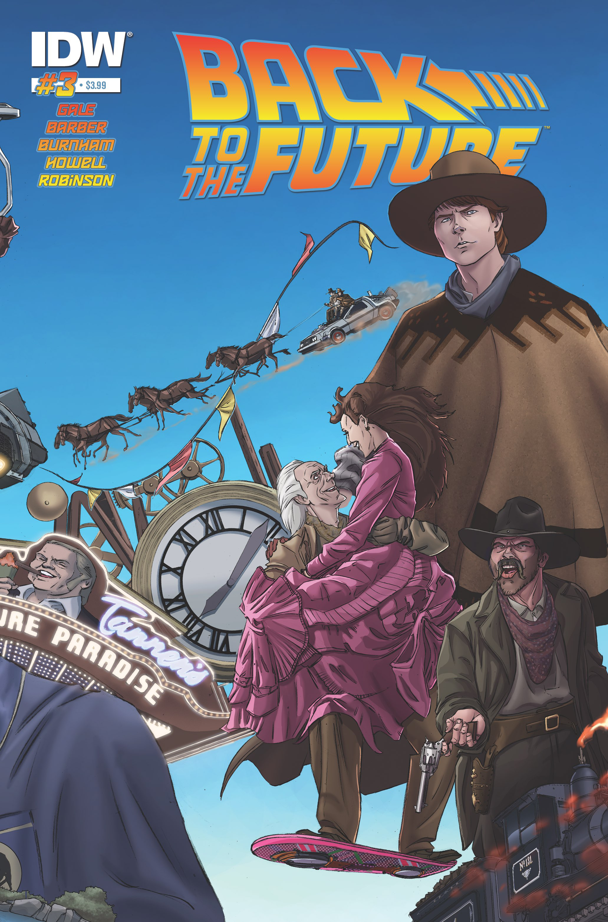 BACK TO THE FUTURE #3 (OF 4)