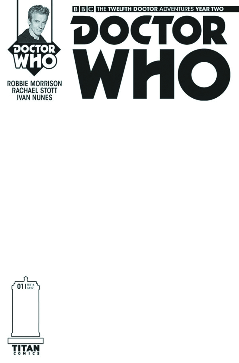 DOCTOR WHO 12TH YEAR TWO #1 SKETCH VAR