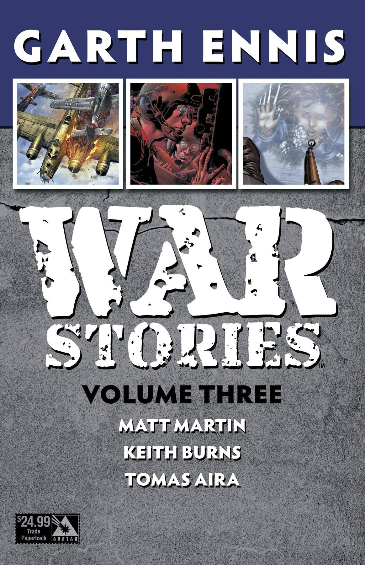WAR STORIES TP VOL 03 (MR)
