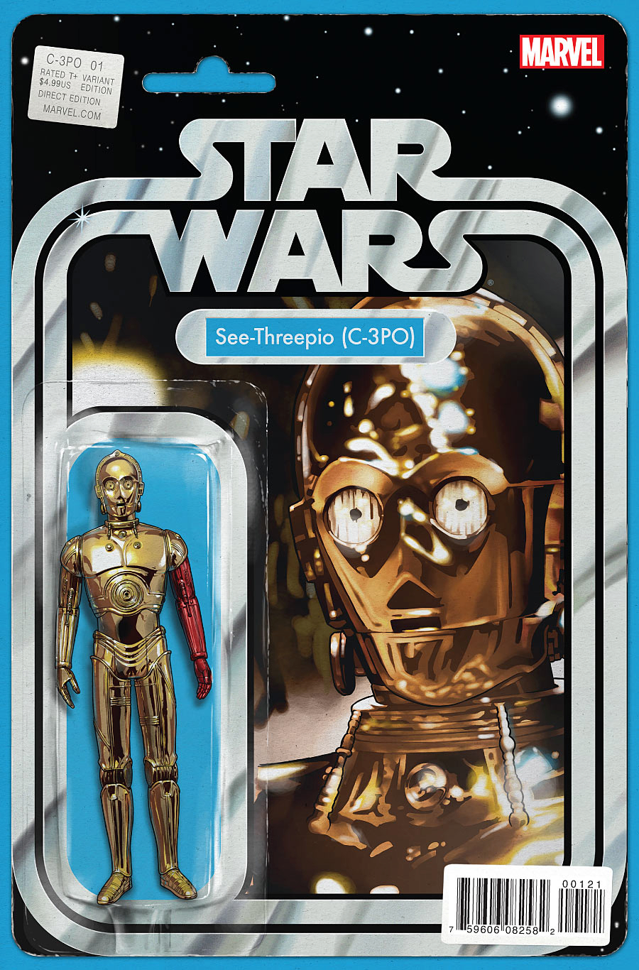 STAR WARS SPECIAL C-3PO #1 ACTION FIGURE VAR