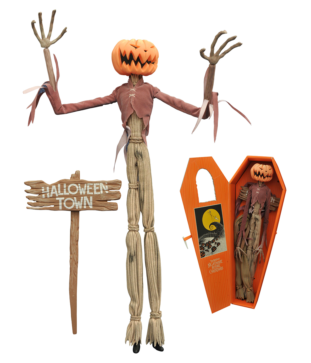 NBX PUMPKIN KING JACK COFFIN DOLL