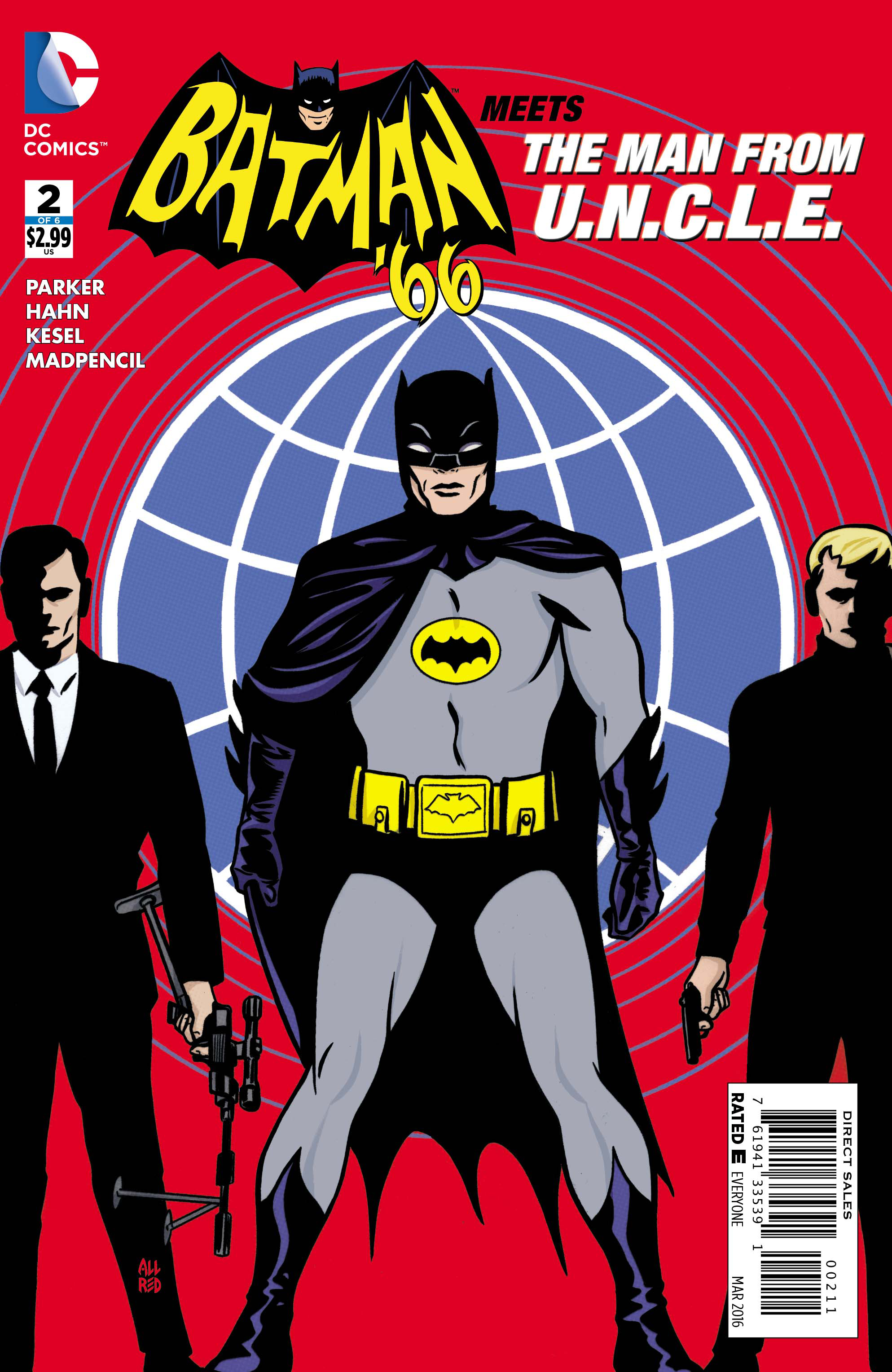 BATMAN 66 MEETS THE MAN FROM UNCLE #2 (OF 6)
