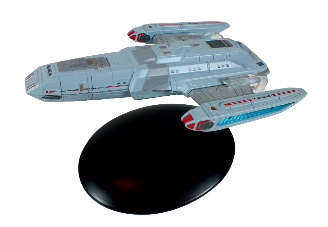 STAR TREK STARSHIPS FIG MAG #66 SS RAVEN