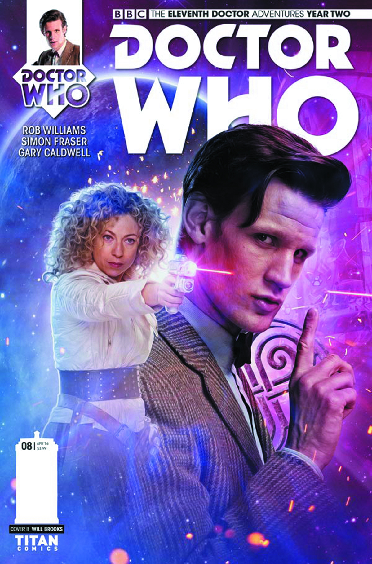 DOCTOR WHO 11TH YEAR TWO #8 CVR B PHOTO