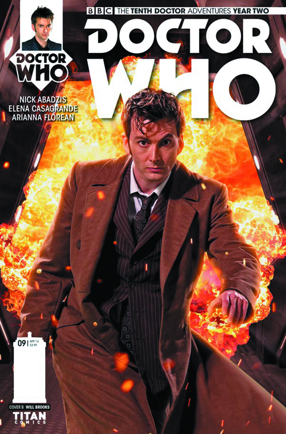 DOCTOR WHO 10TH YEAR TWO #9 CVR B PHOTO