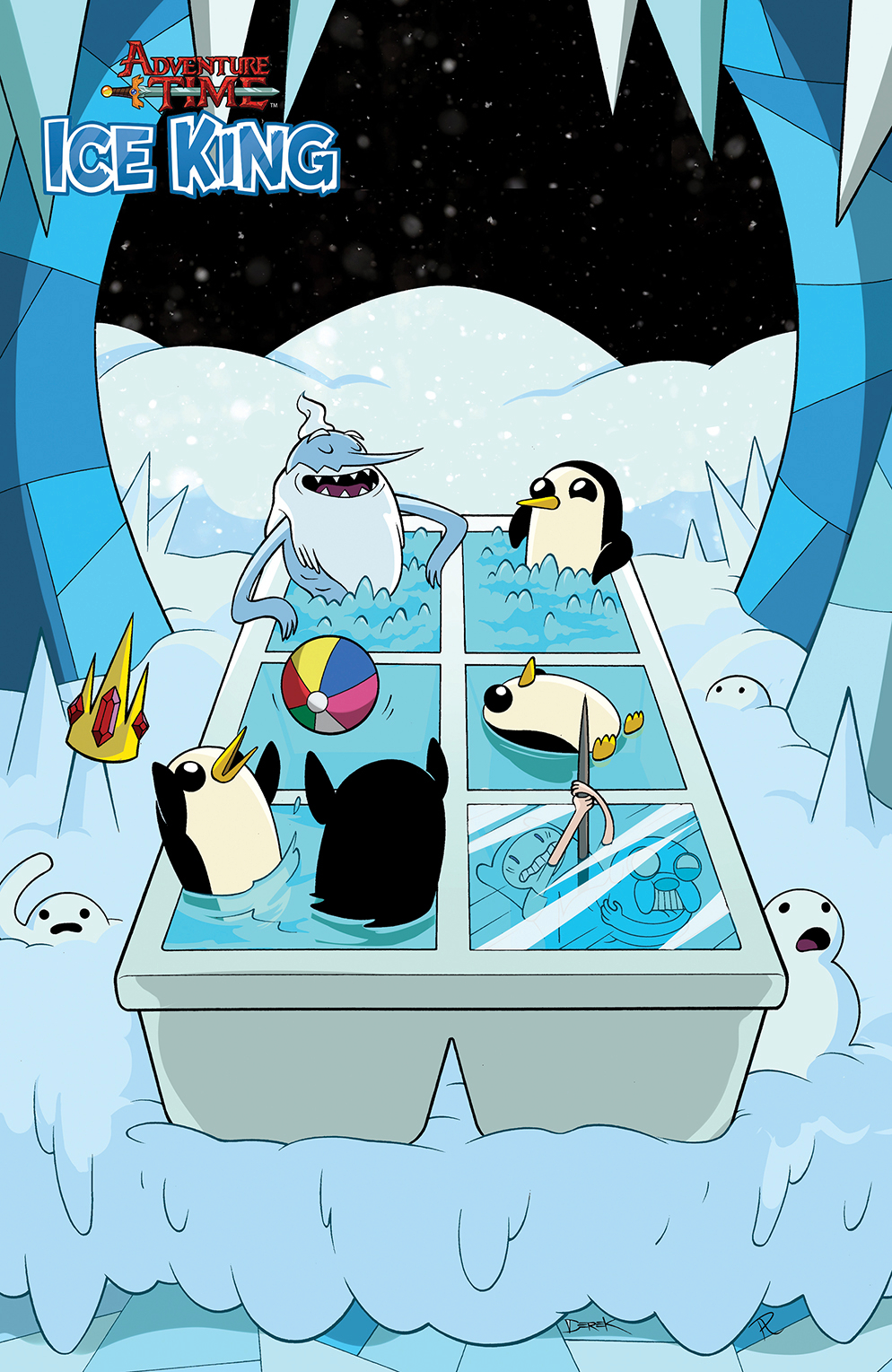 ADVENTURE TIME ICE KING #3 SUBSCRIPTION ONEILL VAR