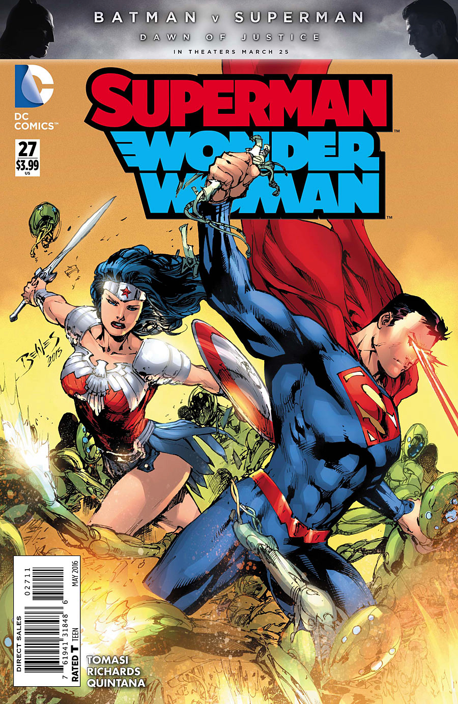 SUPERMAN WONDER WOMAN #27