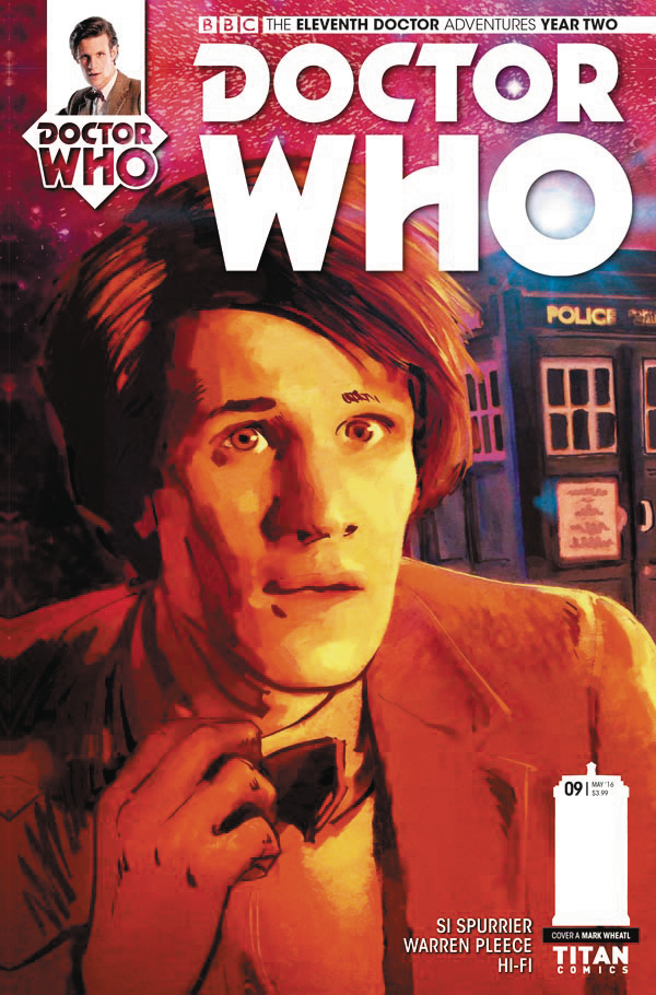 DOCTOR WHO 11TH YEAR TWO #9 CVR A WHEATLEY