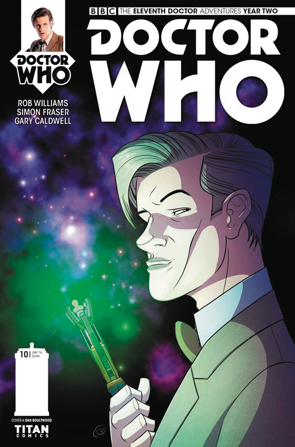 DOCTOR WHO 11TH YEAR TWO #10 CVR A BOULTWOOD