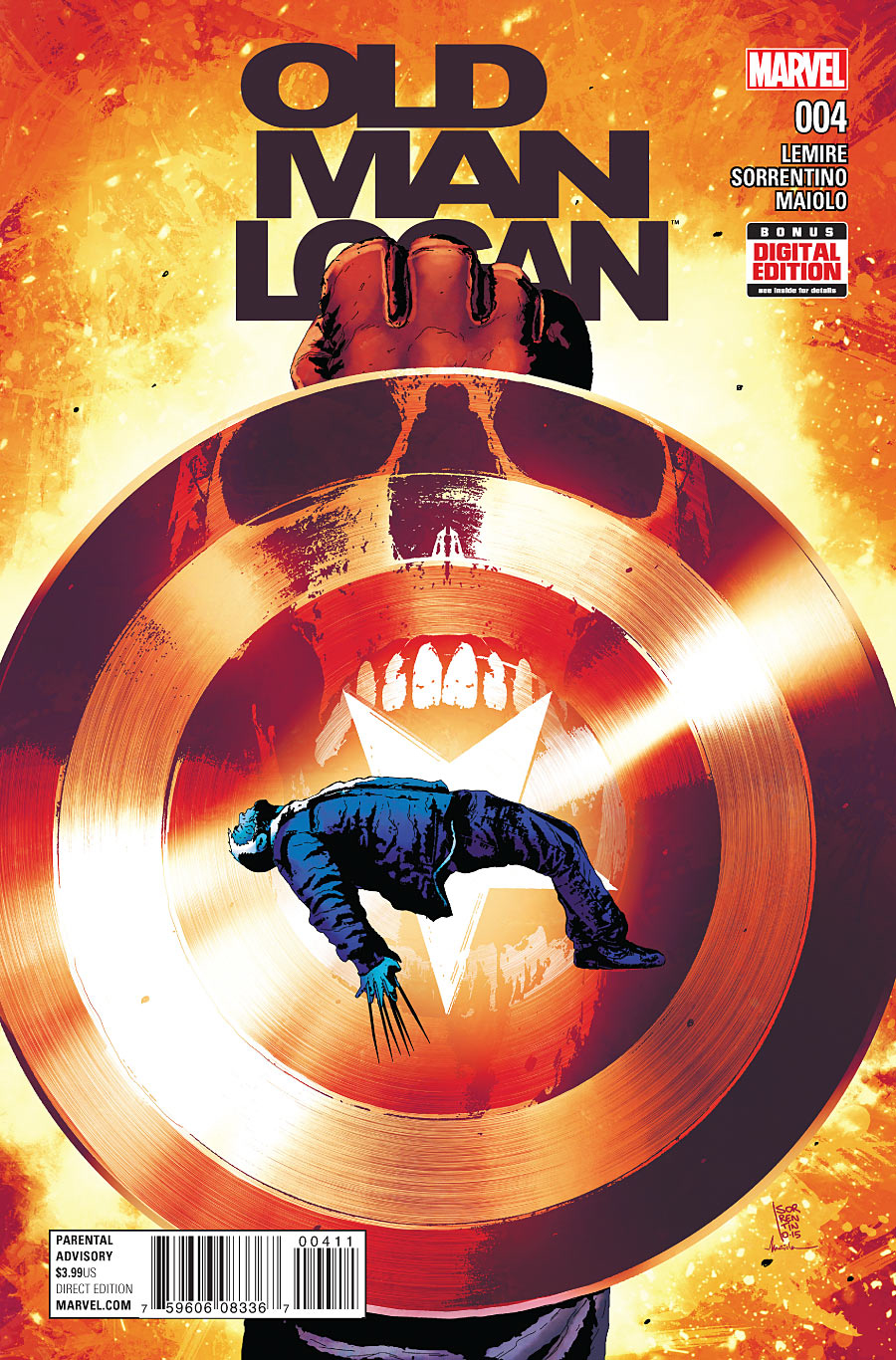 OLD MAN LOGAN #4