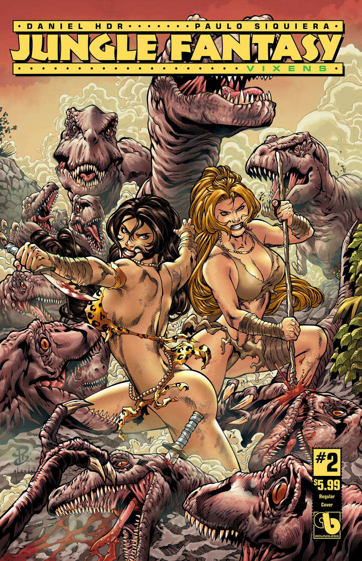 JUNGLE FANTASY VIXENS #2 (OF 2) (MR)