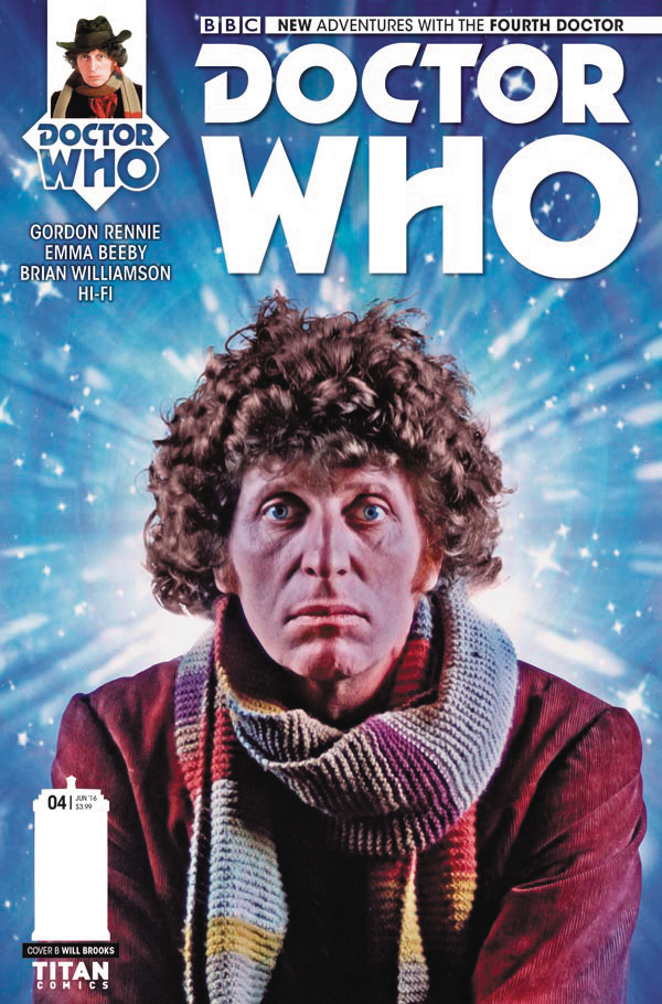 DOCTOR WHO 4TH #4 (OF 5) CVR B PHOTO